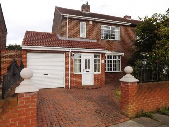 Thumbnail Semi-detached house for sale in Biddick Hall Drive, South Shields, Tyne And Wear