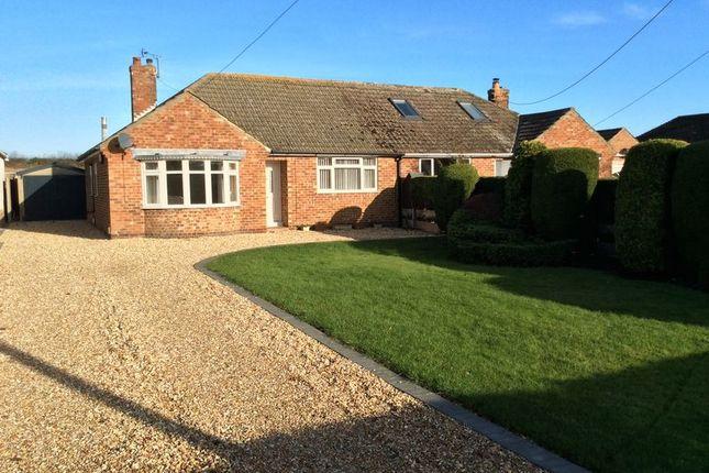 Thumbnail Bungalow to rent in Deepdale Lane, Nettleham, Lincoln