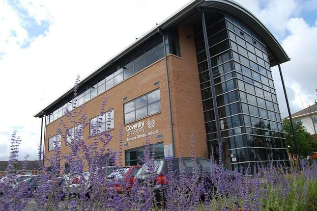 Thumbnail Office to let in Serious Games Institute, Puma Way, Coventry, West Midlands