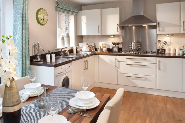 "Thumbnail Semi-detached house for sale in ""Archford"" at Folly View Close, Penperlleni, Pontypool"