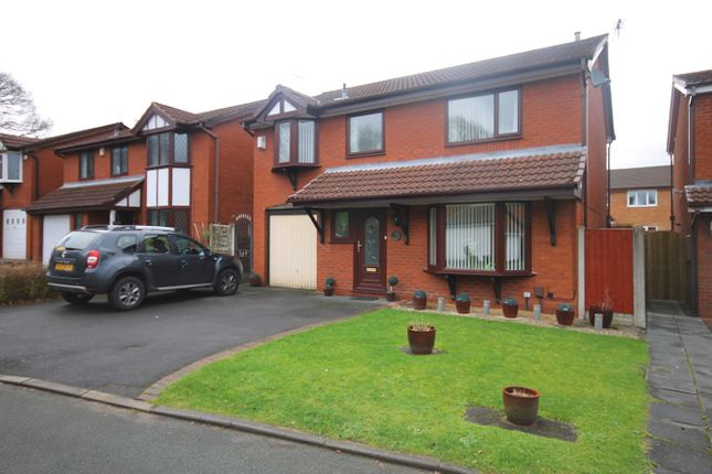 Thumbnail Detached house for sale in Shackleton Close, Old Hall, Warrington