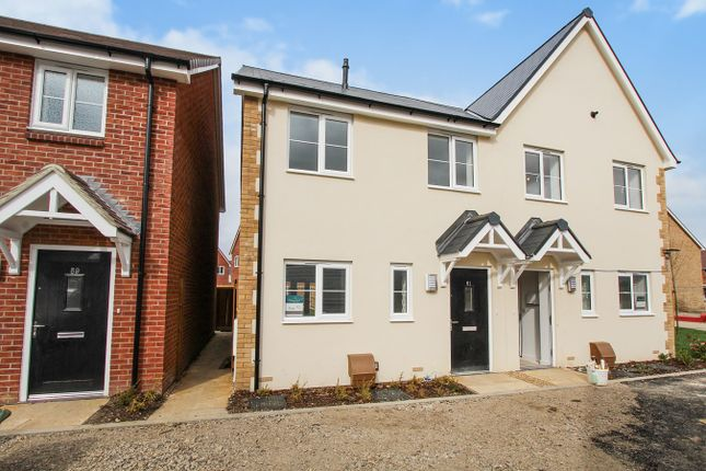 Thumbnail Semi-detached house for sale in Robinson Avenue, Houghton Conquest, Bedford