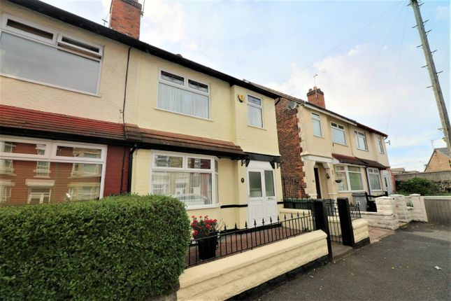 Thumbnail Semi-detached house to rent in Dundee Grove, Wallasey, Wirral