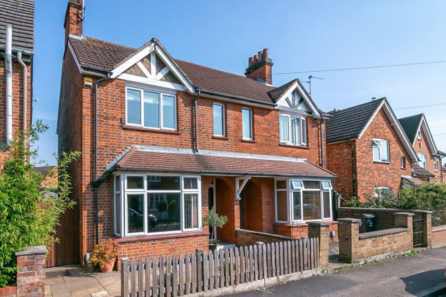 Thumbnail Semi-detached house for sale in Stanmore Road, Stevenage