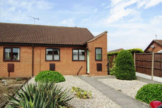 Thumbnail Terraced bungalow to rent in Hall Rise, Messingham, Scunthorpe