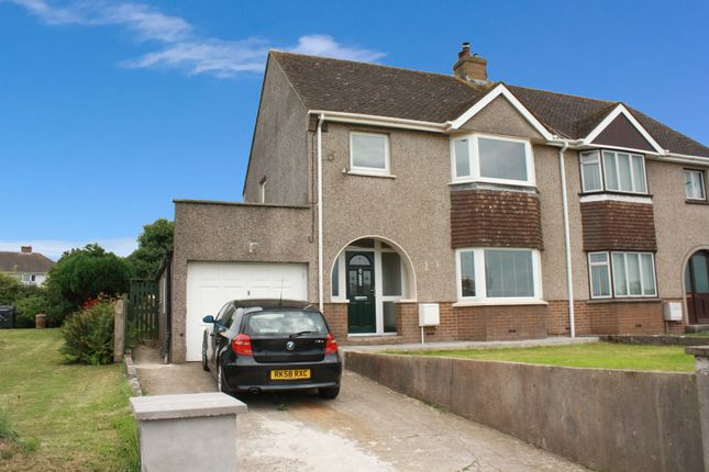 Thumbnail Semi-detached house for sale in St. Peters Road, Johnston, Haverfordwest
