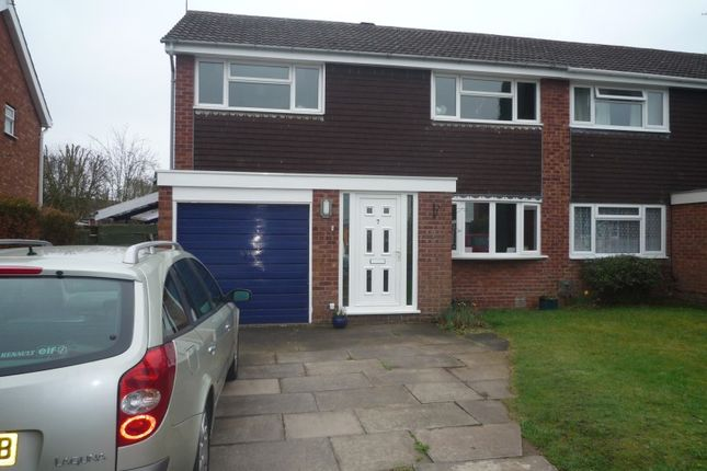 Thumbnail Semi-detached house to rent in Oakfield Road, Shifnal