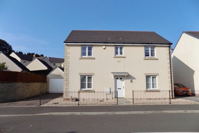 Thumbnail Detached house for sale in Ffordd Yr Hebog, Coity, Bridgend .