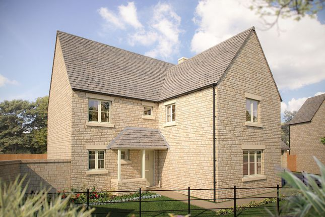 "Thumbnail Detached house for sale in ""The Bourton"" at Morecombe Way, Fairford"