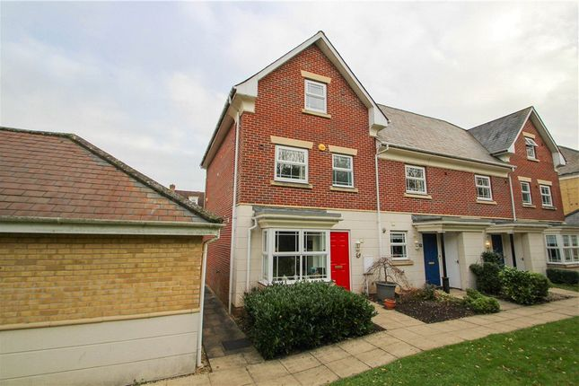 Thumbnail End terrace house for sale in Drifters Drive, Deepcut, Camberley, Surrey