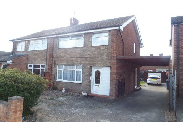 Thumbnail Semi-detached house to rent in Brookside Avenue, Mansfield Woodhouse, Mansfield