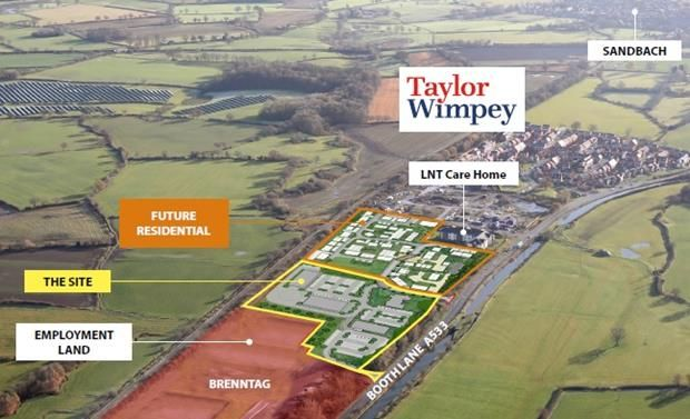 Thumbnail Land to let in Booth Lane, Sandbach, Cheshire