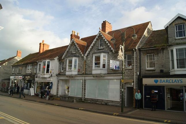 Thumbnail Commercial property to let in 1st & 2nd Floors, 107 High Street, Street, Somerset