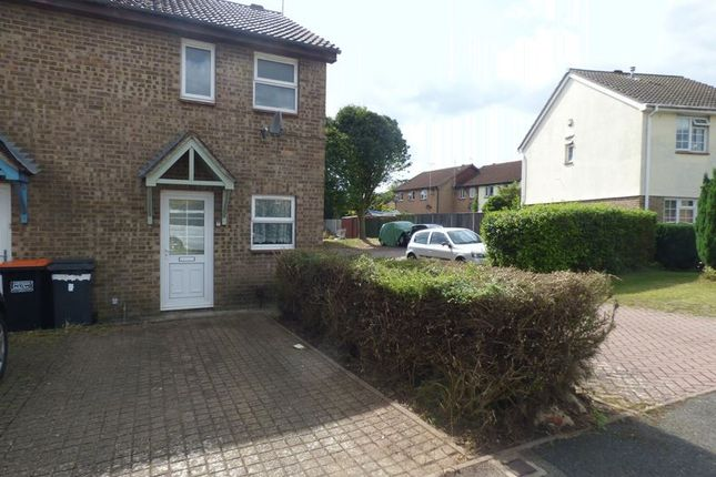 Thumbnail End terrace house to rent in Vanbrugh Drive, Houghton Regis, Dunstable
