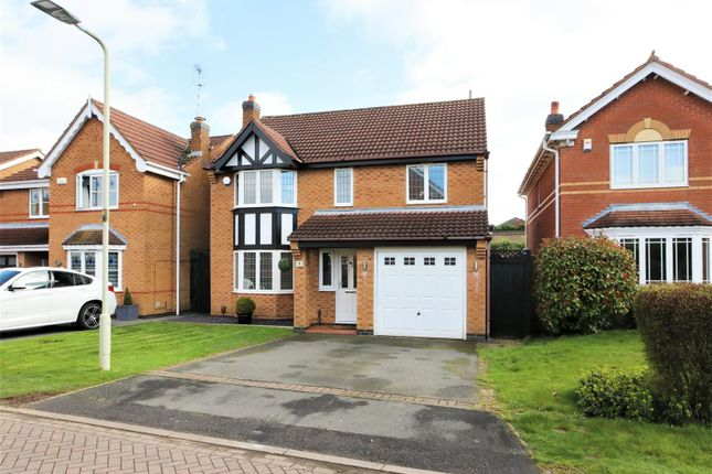 Front Elevation of Naseby Drive, Ashby-De-La-Zouch LE65
