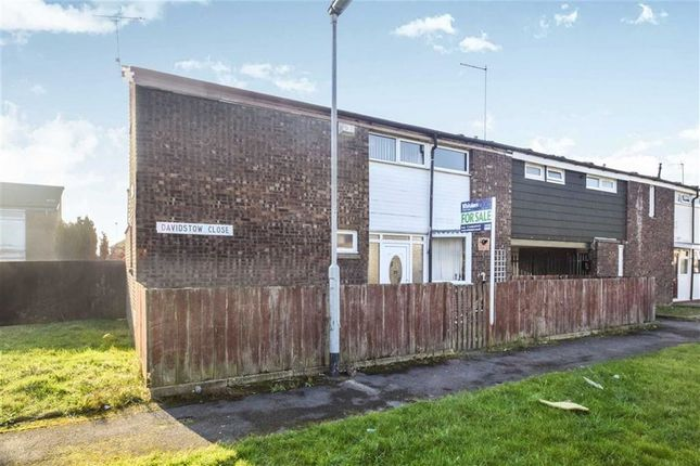 Thumbnail End terrace house for sale in Davidstow Close, Hull