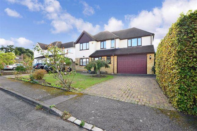 Thumbnail Detached house for sale in Kearton Close, Kenley, Surrey