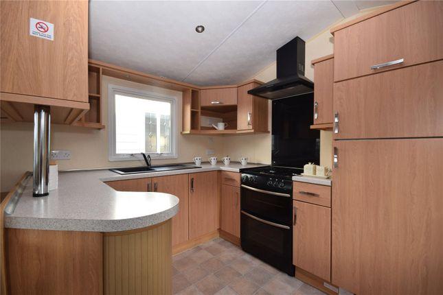 Kitchen of Sunnydale Holiday Park, Sea Lane, Saltfleet LN11