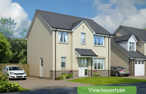 Thumbnail Detached house for sale in Plot 8 & Plot 39, Carnock Road, Dunfermline
