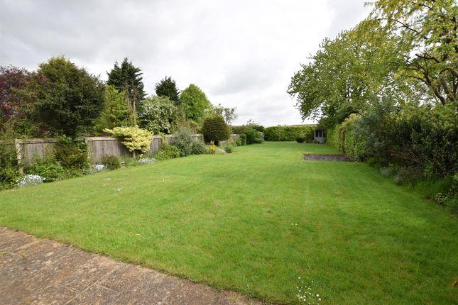 Rear Garden of Stamford Road, Oakham LE15