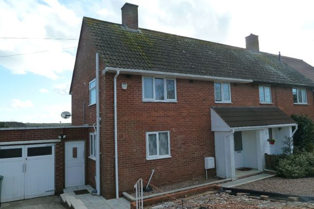 Thumbnail Semi-detached house to rent in Salterton Road, Exmouth