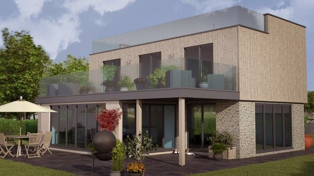 Thumbnail Detached house for sale in Roof Garden, Cookswood, Somerset