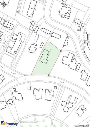 Site Plan of Dean Park Road, Bournemouth BH1