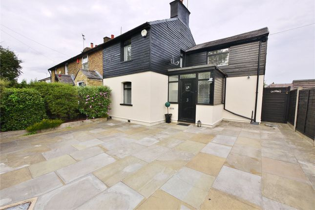 Thumbnail End terrace house for sale in Whalebone Cottages, London Road, Hastingwood, Harlow