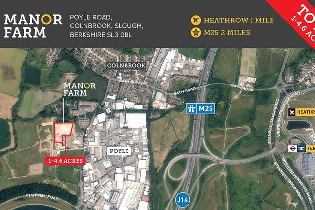Thumbnail Light industrial to let in Manor Farm, Poyle Road, Colnbrook, Slough, Berkshire