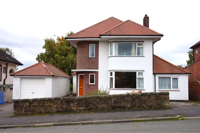 Thumbnail Detached house for sale in Hollies Road, Derby