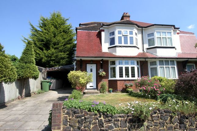 Thumbnail Semi-detached house for sale in Widmore Lodge Road, Bickley, Bromley