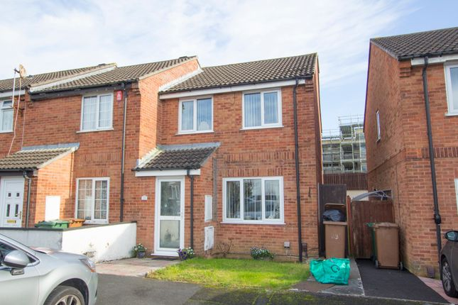 Thumbnail End terrace house for sale in Witham Gardens, Efford, Plymouth