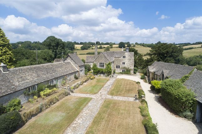 Thumbnail Detached house for sale in Duntisbourne Leer, Cirencester, Gloucestershire