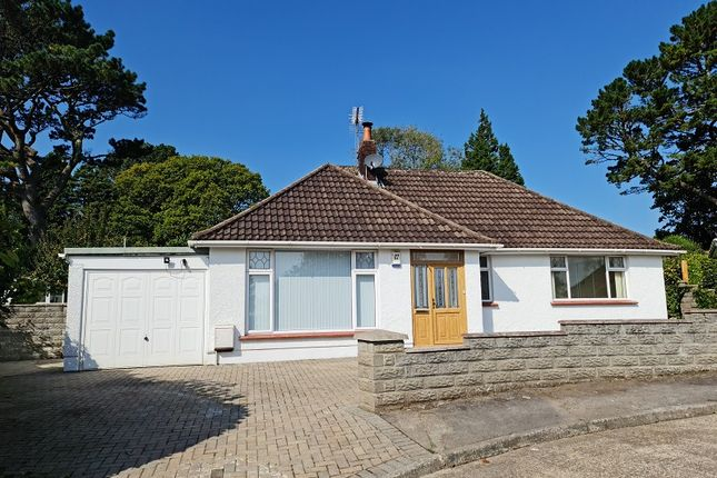 Thumbnail Detached bungalow for sale in Glynderwen Close, Sketty, Swansea, City And County Of Swansea.