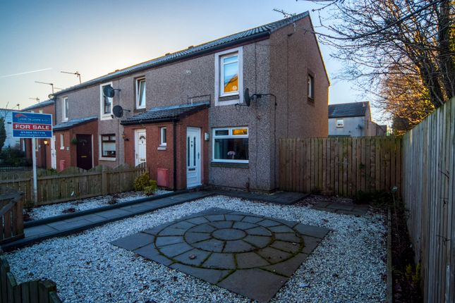 Thumbnail End terrace house for sale in Franchi Drive, Stenhousemuir, Larbert