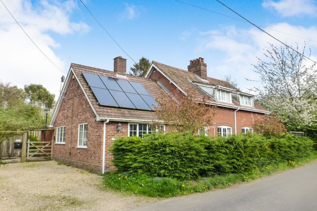 Thumbnail Detached house for sale in Hawkes Lane, Bracon Ash, Norwich