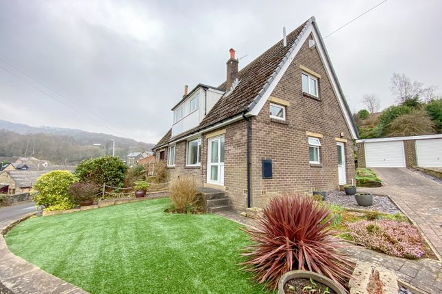 3 bed semi-detached house for sale in Robin Rocks, Brockholes, Holmfirth HD9