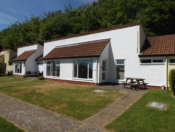 Thumbnail Bungalow for sale in Honicombe Manor Holiday Park, Cornwall