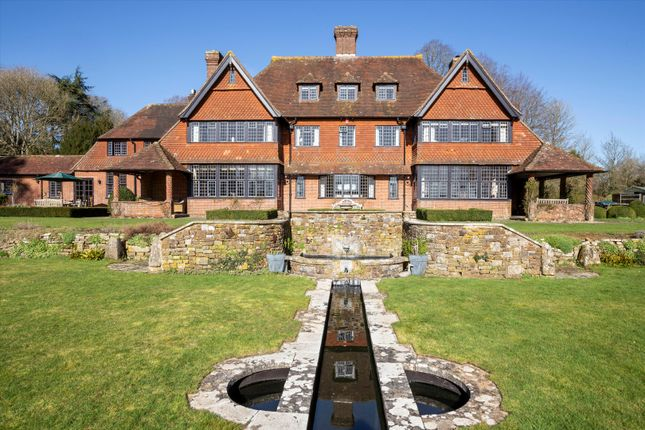 Thumbnail Detached house for sale in Sparsholt, Winchester, Hampshire