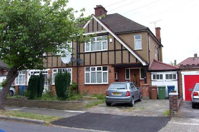 Thumbnail Semi-detached house to rent in Parkthorne Drive, North Harrow, Harrow