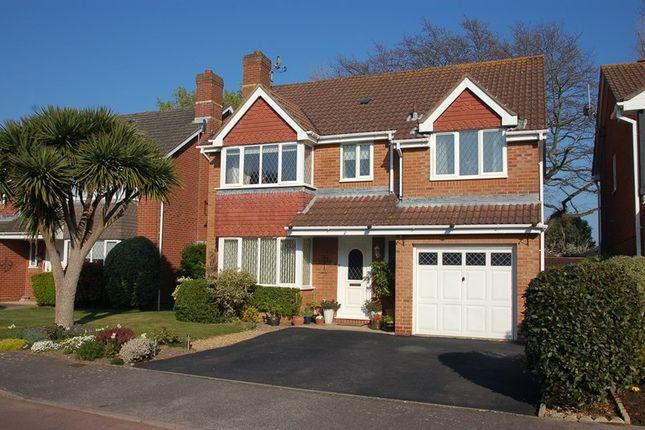 Thumbnail Detached house for sale in Tebourba Drive, Alverstoke, Gosport