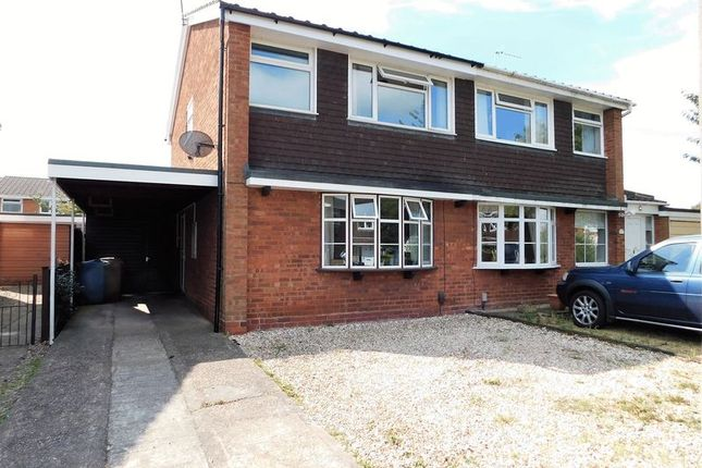Thumbnail Semi-detached house to rent in Wycherwood Gardens, Wildwood, Stafford