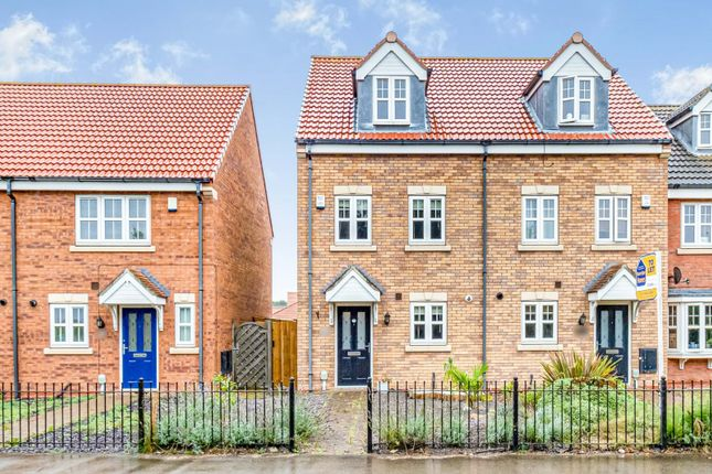 Thumbnail End terrace house to rent in Pools Brook Park, Kingswood, Hull