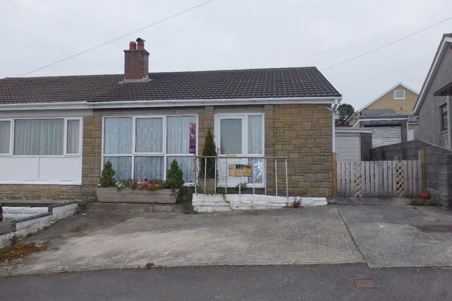 Thumbnail Bungalow for sale in Treetops, Felinfoel, Llanelli
