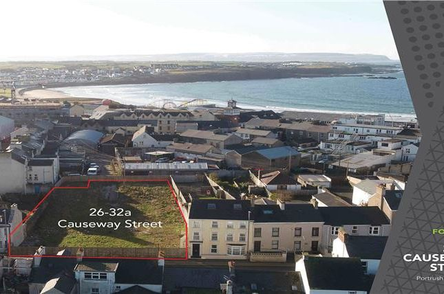 Thumbnail Land for sale in 26-32 Causeway Street, Portrush, County Antrim