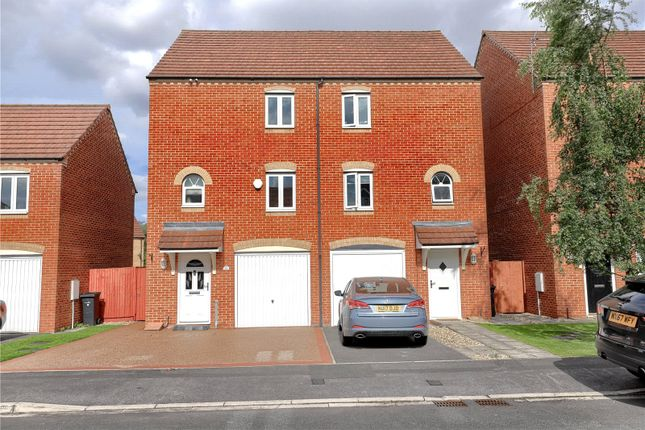 Thumbnail Semi-detached house to rent in Harvington Chase, Coulby Newham, Middlesbrough