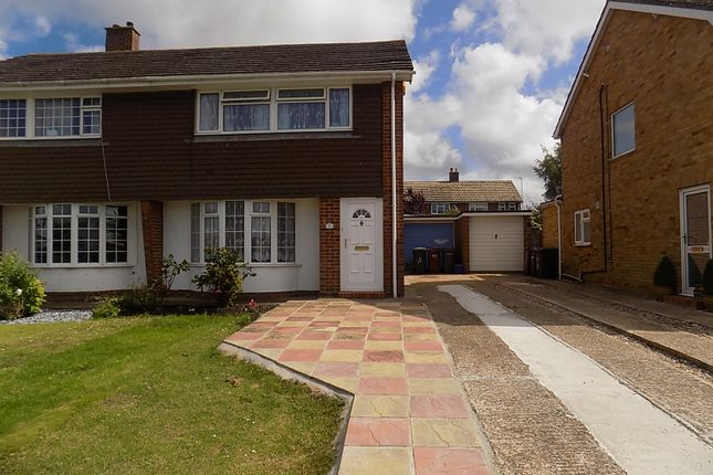 Thumbnail Semi-detached house for sale in Anderida Road, Eastbourne