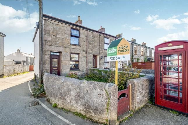 Thumbnail End terrace house for sale in Beacon, Camborne, Cornwall
