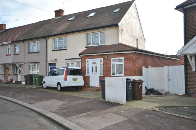 Thumbnail Semi-detached house for sale in Bell Farm Avenue, Dagenham