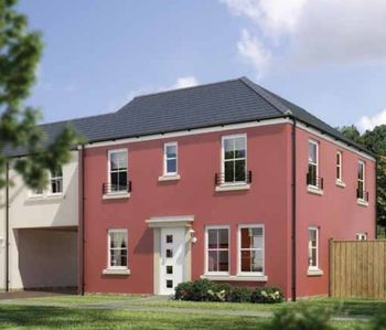 "Thumbnail Detached house for sale in ""The Airth"" at Stable Gardens, Galashiels"